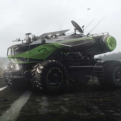 Encho enchev encho enchev space rover concept 2