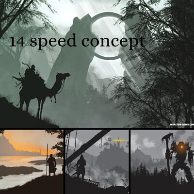 14 speed concept