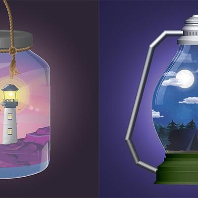 Kim timbone kim timbone illustrator animated scenes coverimage