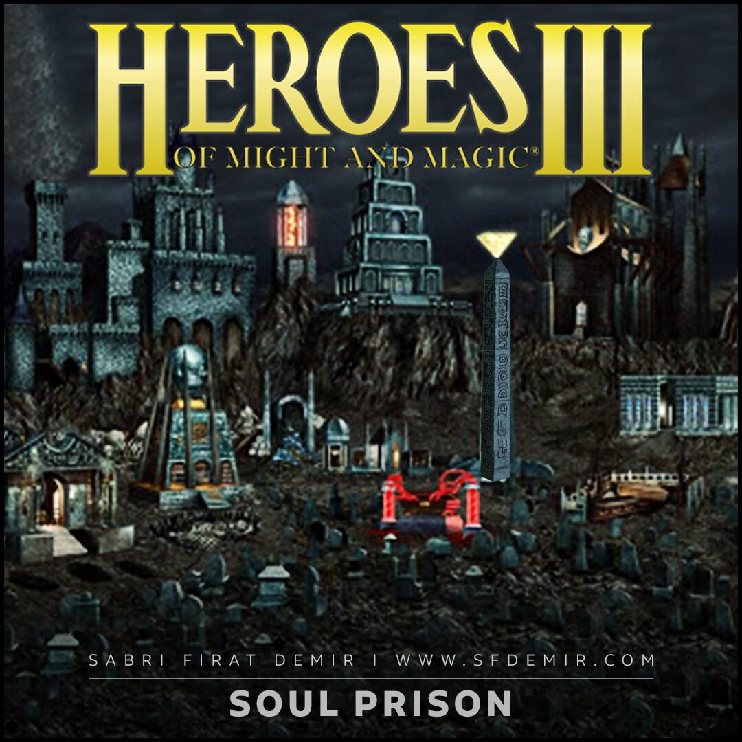 Soul Prison - HOMM III 3D Model Breakdown