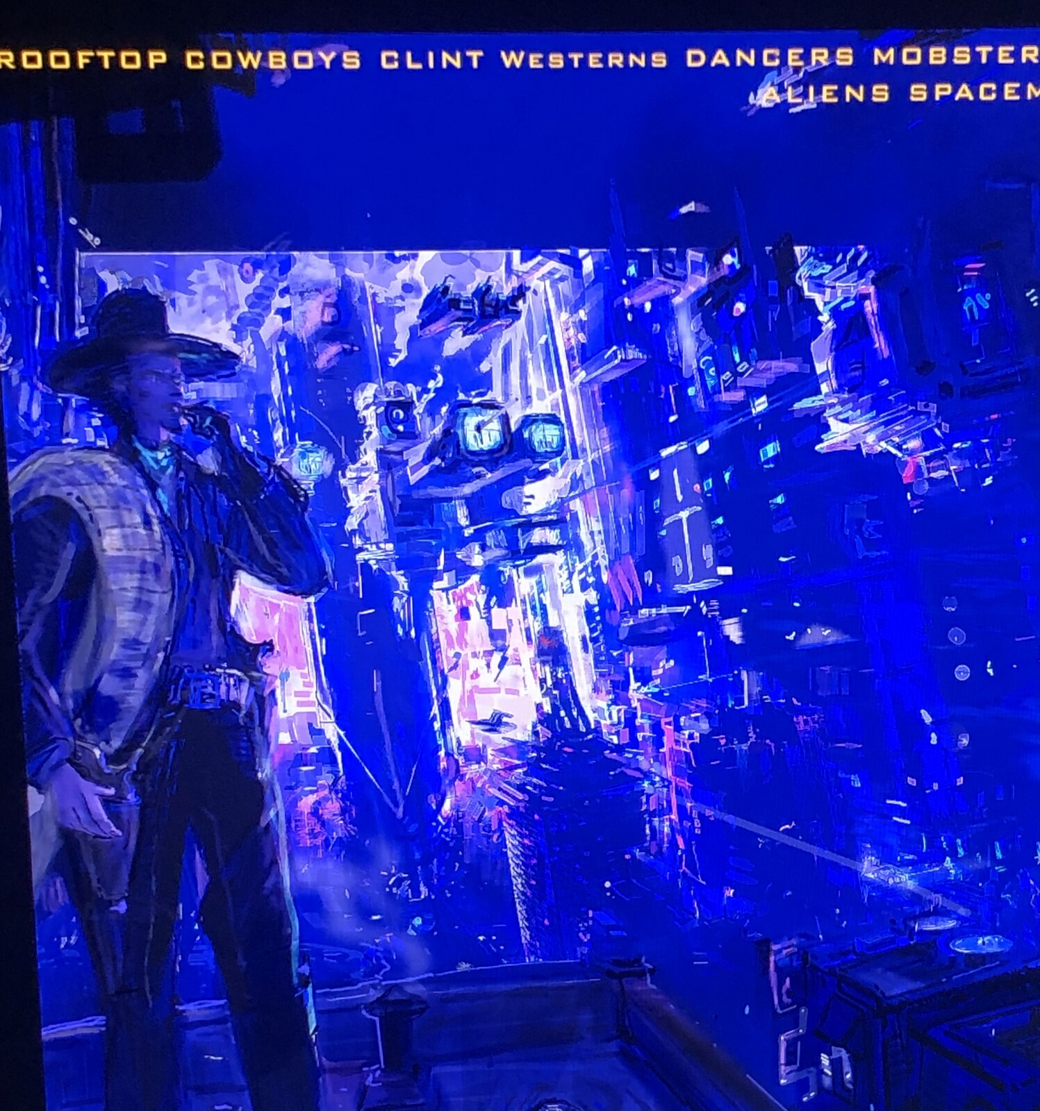 The Bounty Hunter, Dancer & Aliens.