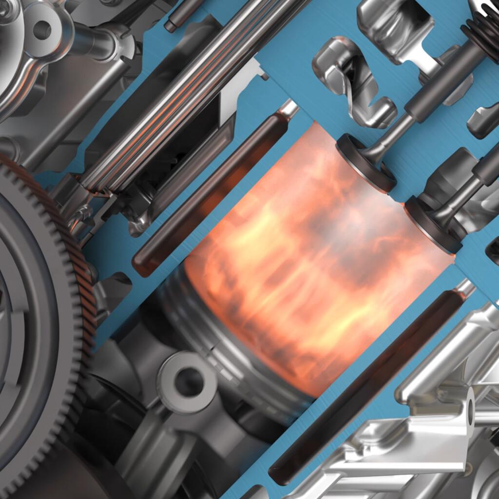 Automotive Powertrain CGI