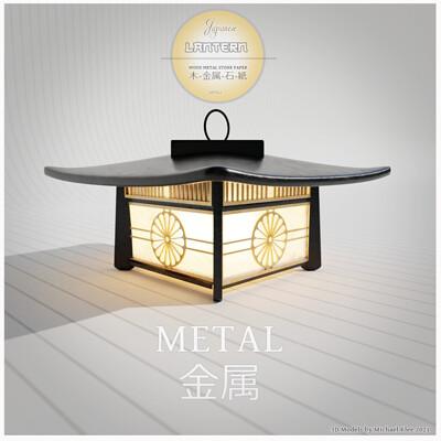 Michael klee michael klee japanese lantern series metal 3d models by micheal klee 2021