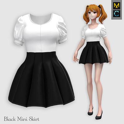 Roya almasi roya almasi mini skirt artboard 9