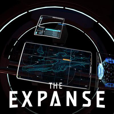 The Expanse: Razorback HUD Design
