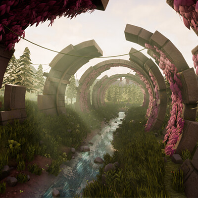 Stylized Outdoor Environment