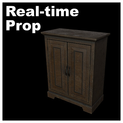 Wood Cabinet - Real-time
