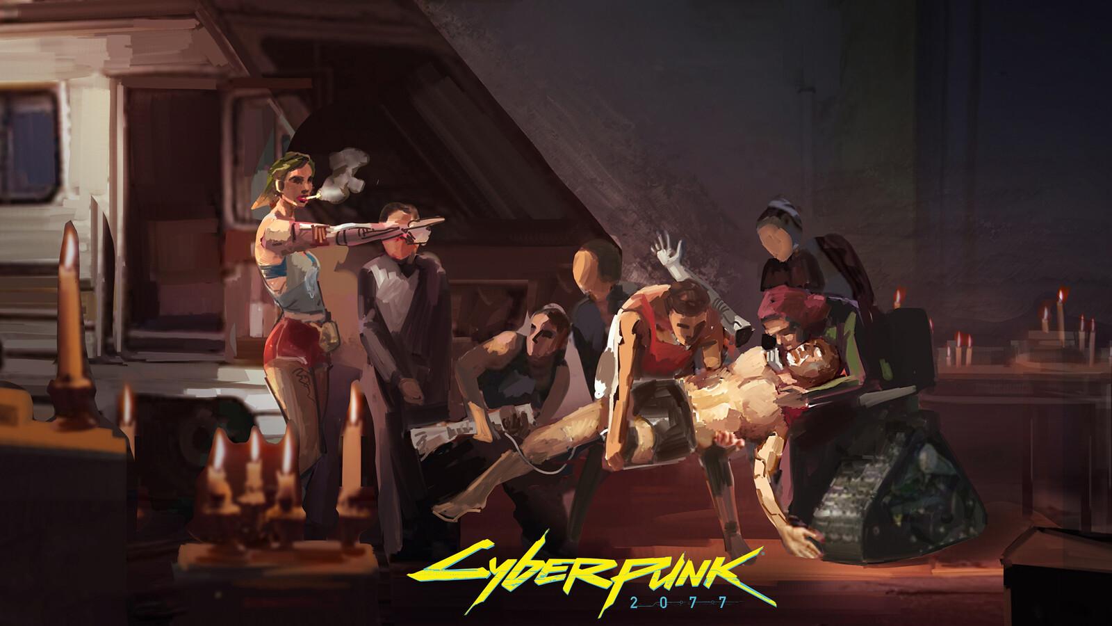 Cyberpunk 2077 - Cyber Christ