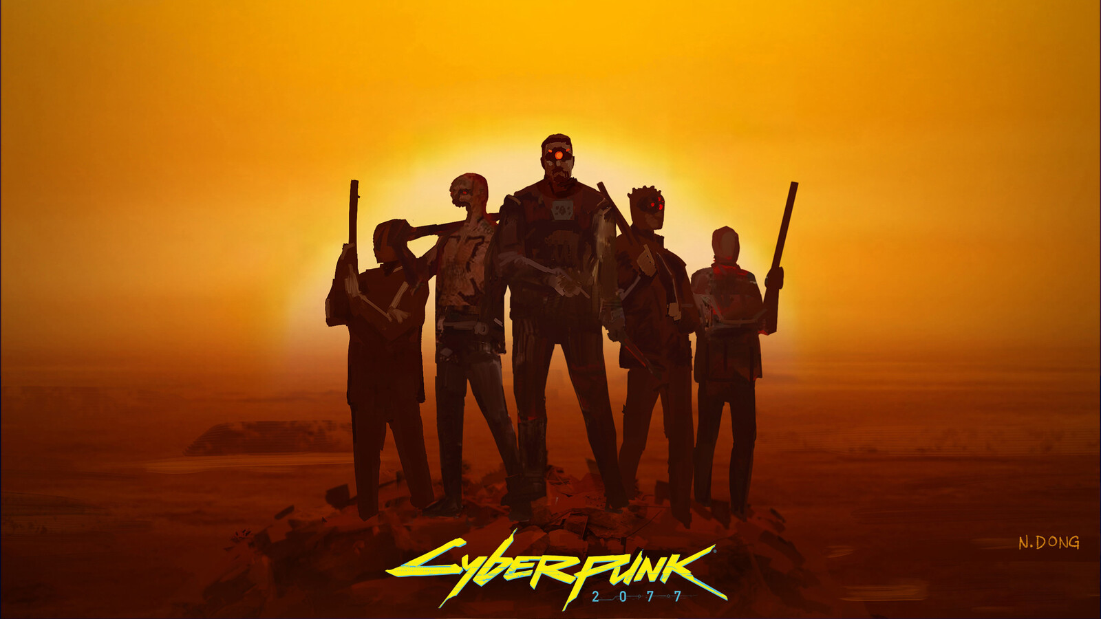 Cyberpunk 2077 - Maelstrom Gang