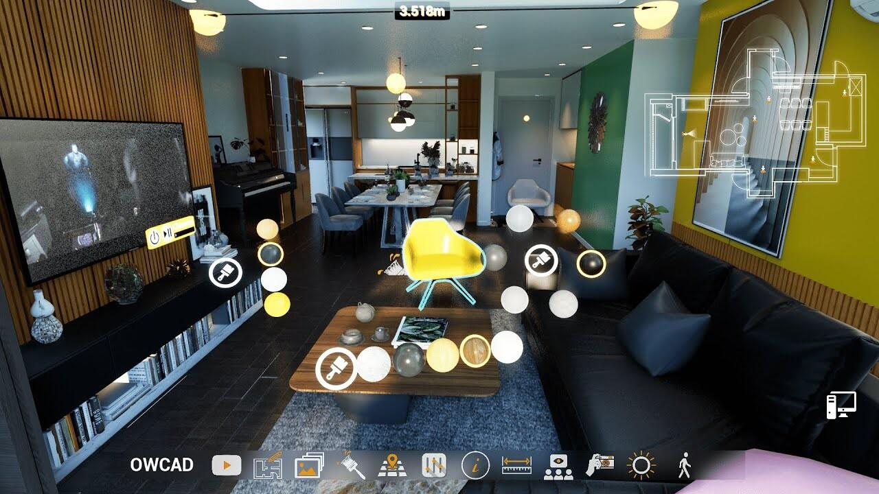 Unreal Engine 4 - 3D Interior Walkthrough and Interactive