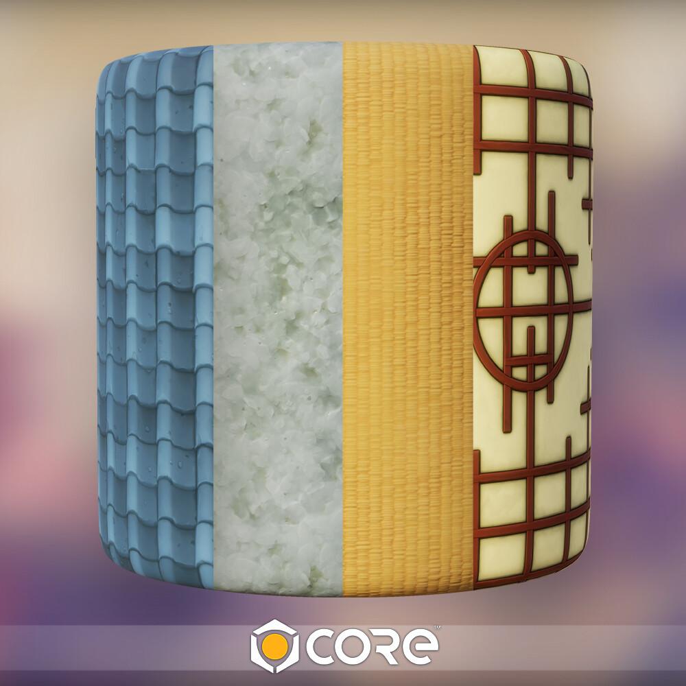 Core - Japanese Materials