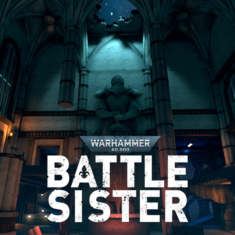 Warhammer 40,000: Battle Sister - Fornhorst Cathedrum [Horde mode]