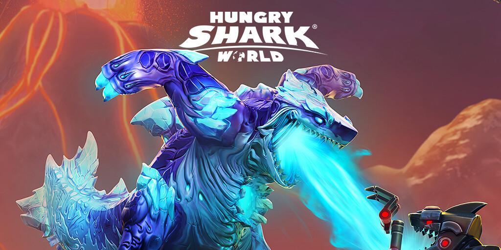 Hungry Shark World Shin Sharkjira Update