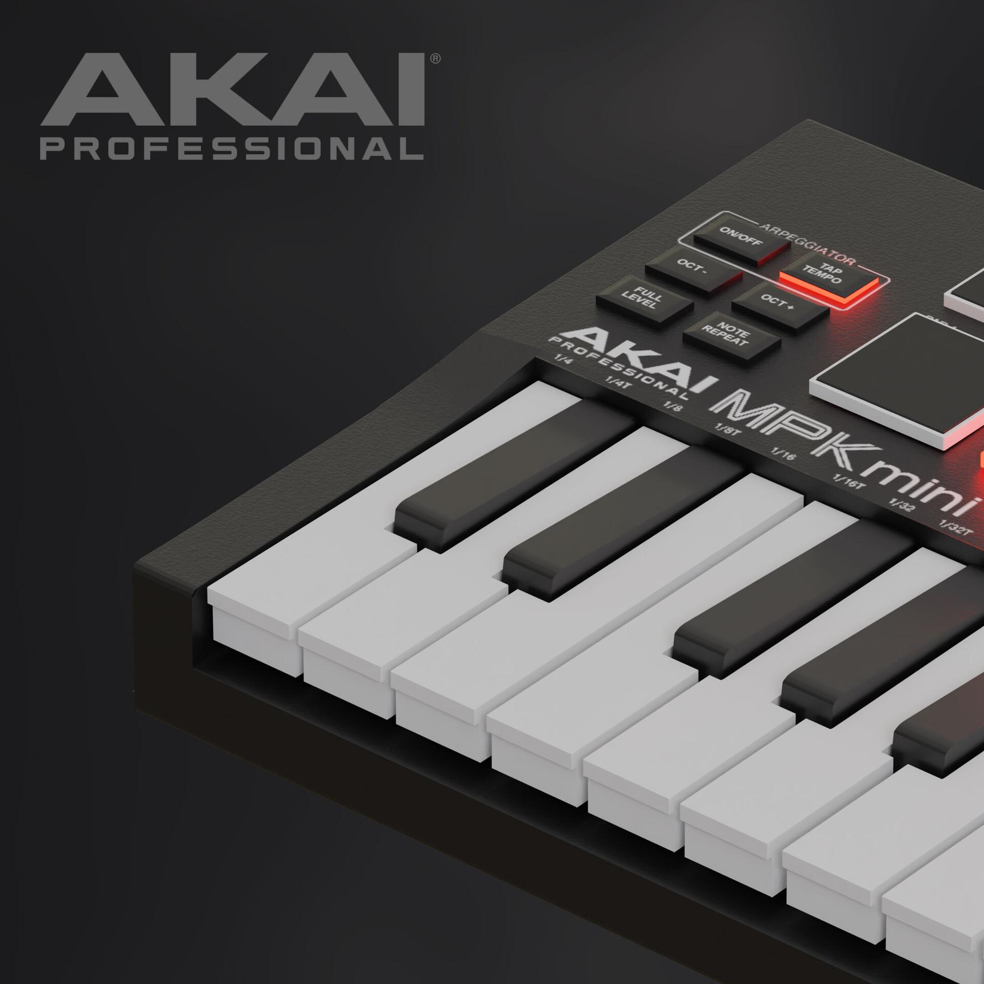 AKAI MPK mini product modeling