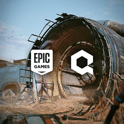 Epic Games / Quixel | Aircraft Scene