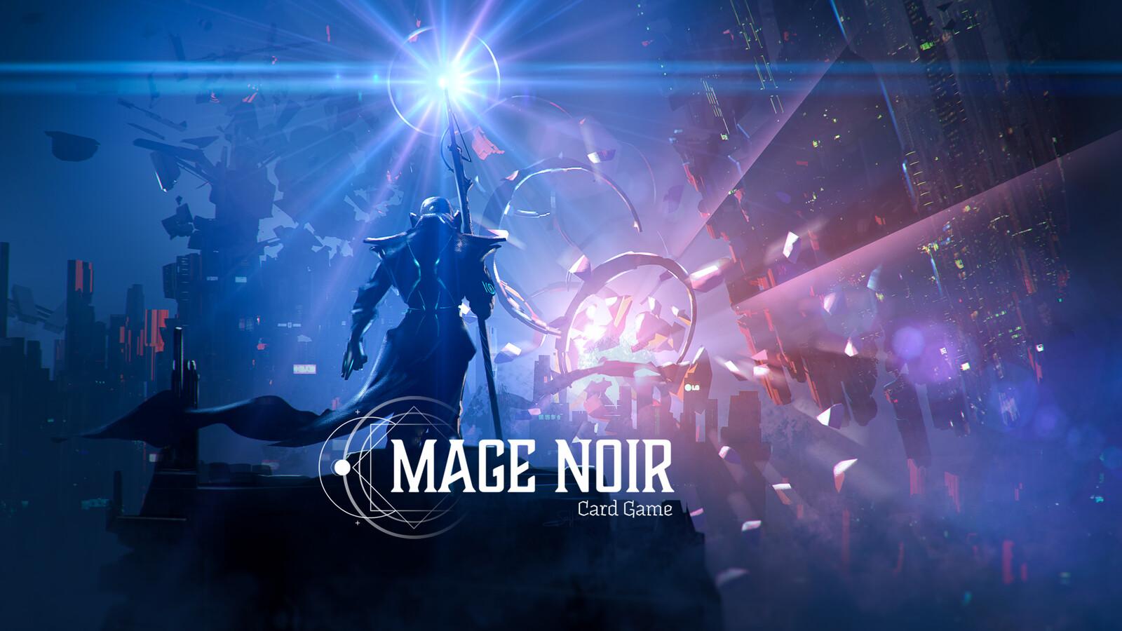 """Mage Noir """"Galactic scepter / Sceptre galactique"""""""