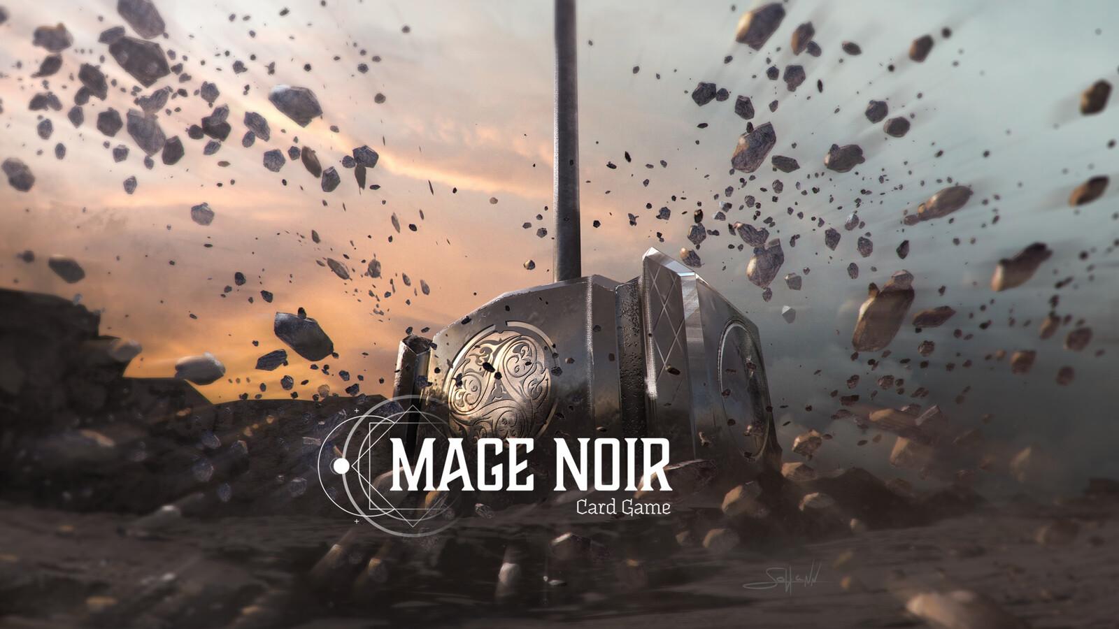 """Mage Noir """"Divine hammer strike / Coup de marteau divin"""""""