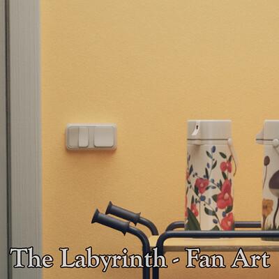 The Labyrinth - Simon Stålenhag Fan Art