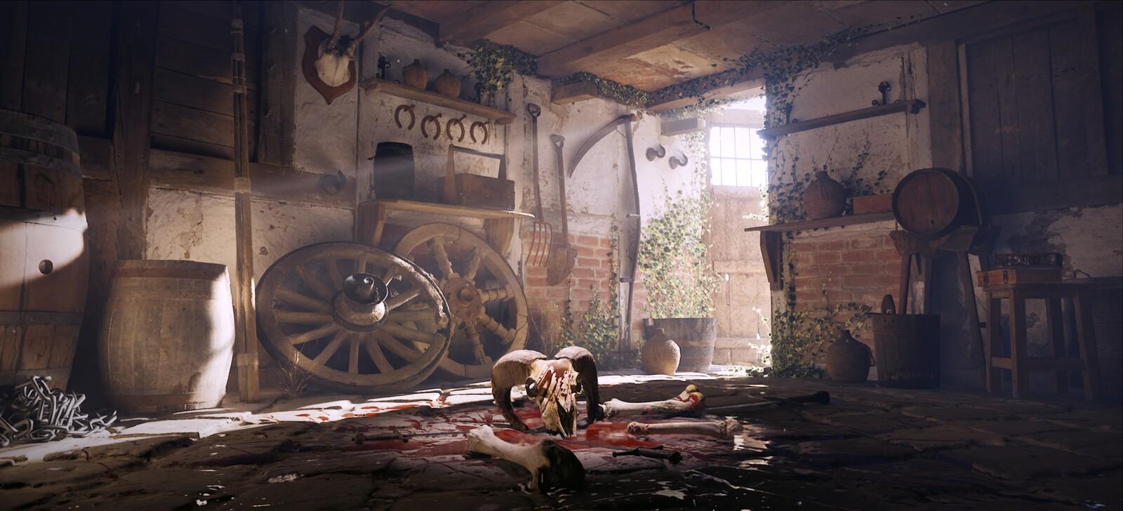 Ritual // UE5 // Megascans // Unreal Engine Animation // Lumen & Nanite