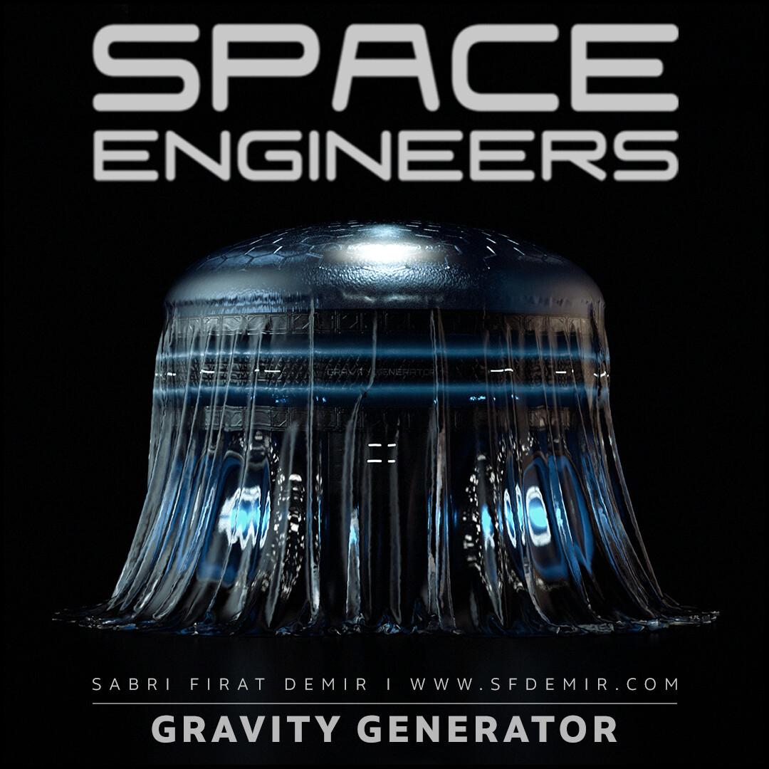 Gravity Generator For Space Engineers