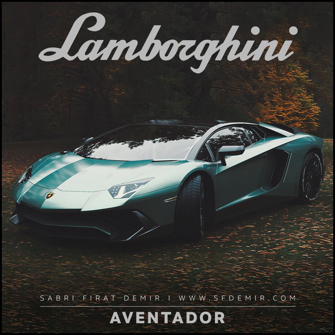 Lamborghini Aventador Forest Concept Design