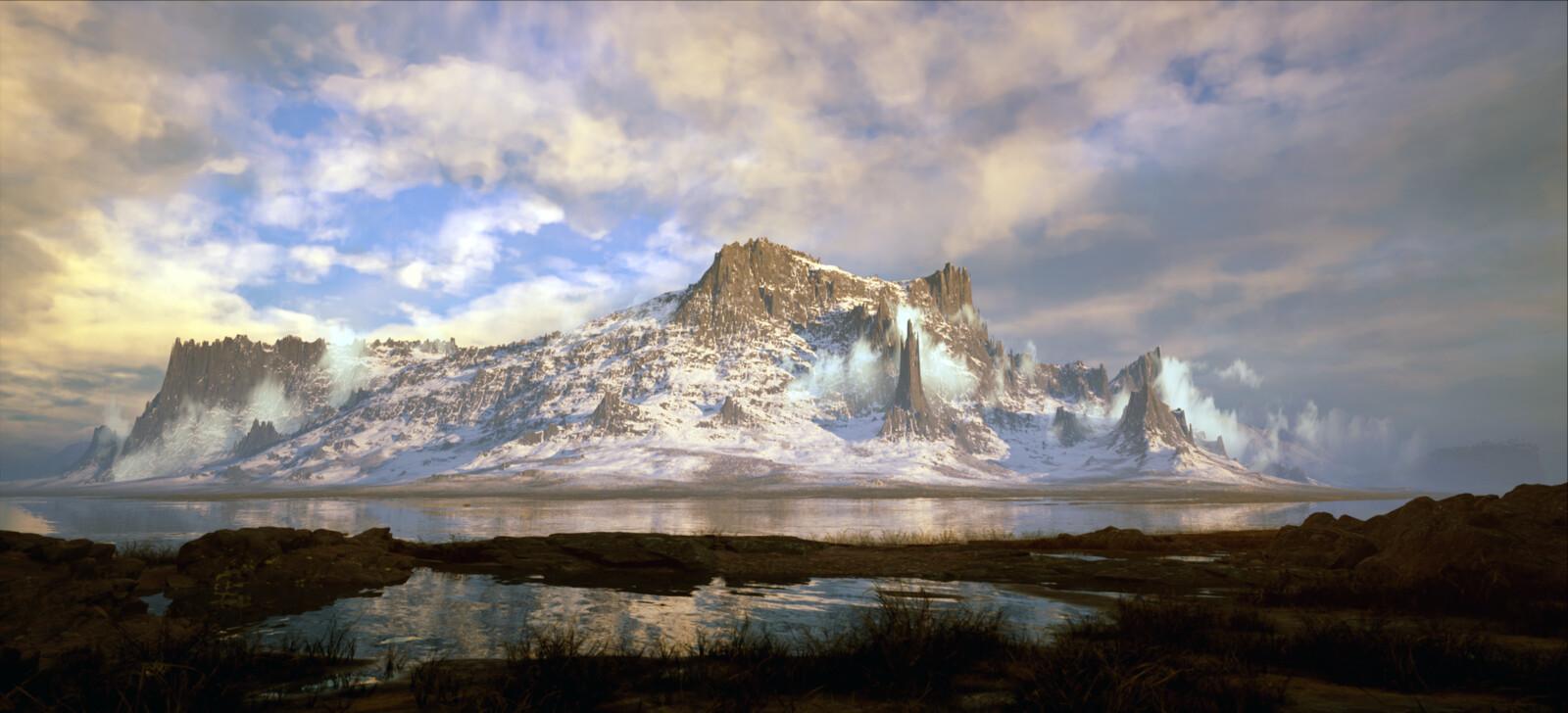 Red Mountain // Unreal Engine Animation // World Creator // 4K