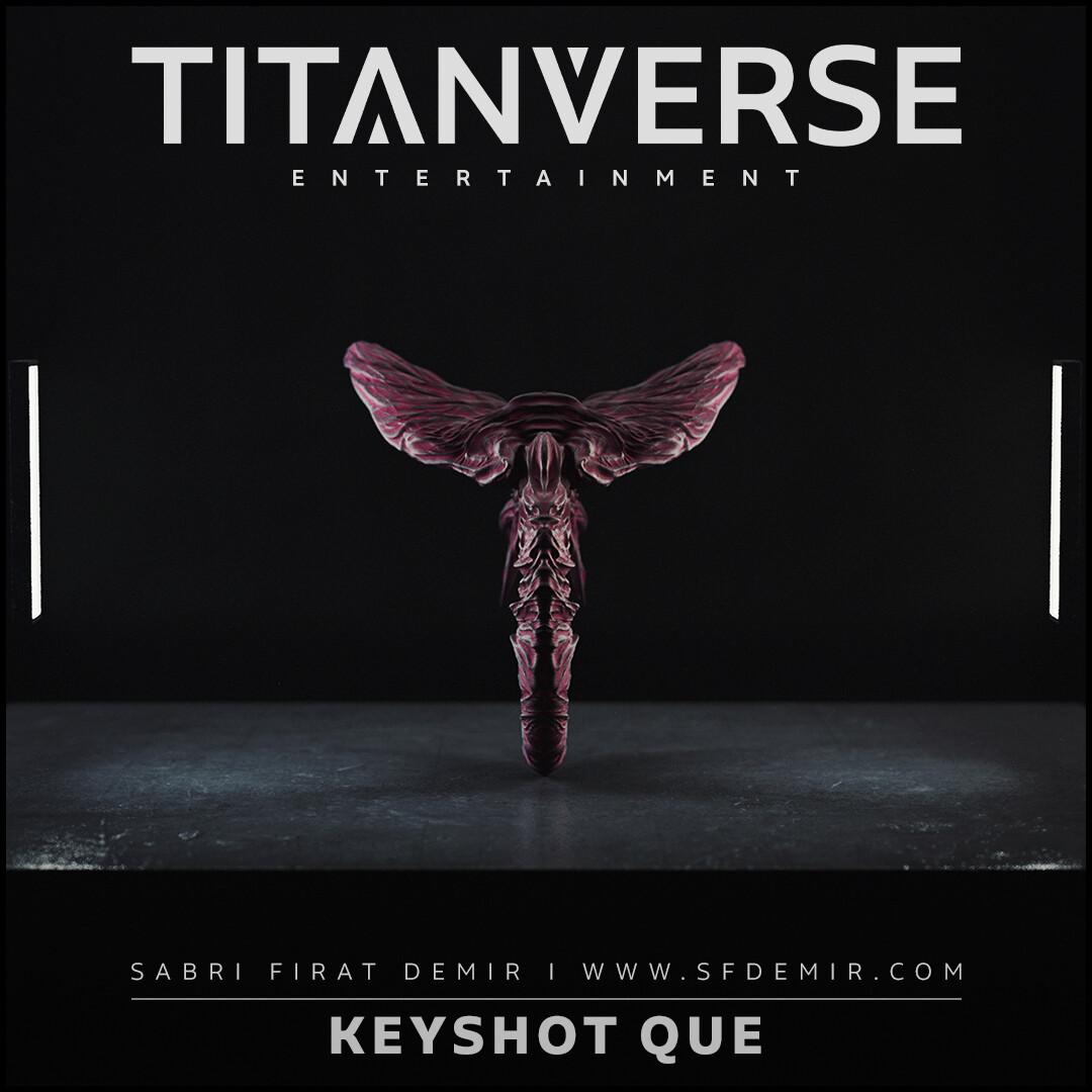 QUE Keyshot Render Scene