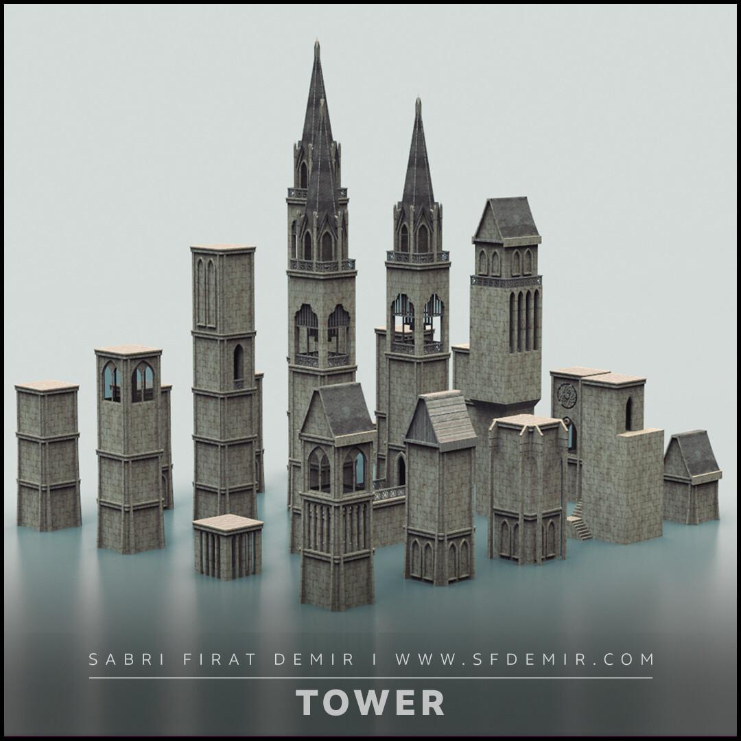 Medieval Tower Pack