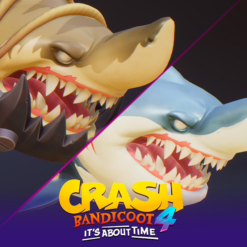 Sharks! - Crash Bandicoot 4 It's About Time
