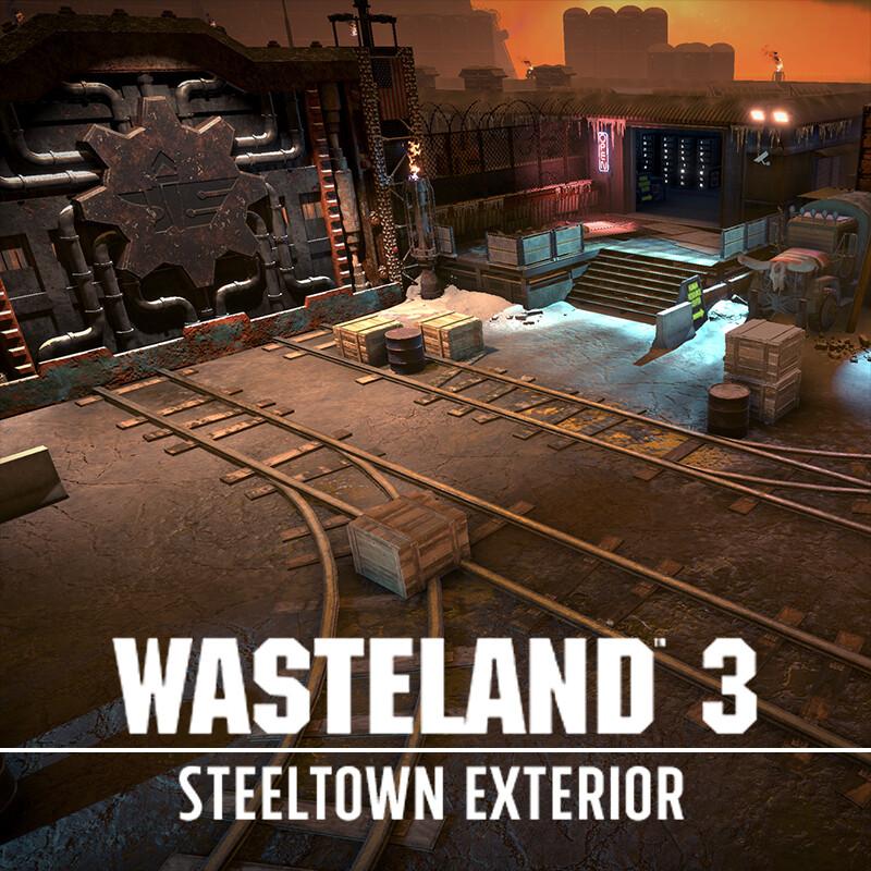 Wasteland 3: The Battle of Steeltown - Steeltown Exterior