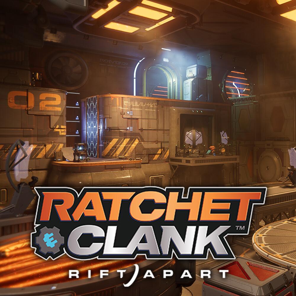 Ratchet & Clank: Rift Apart - Neo Nefarious City - Trainstation