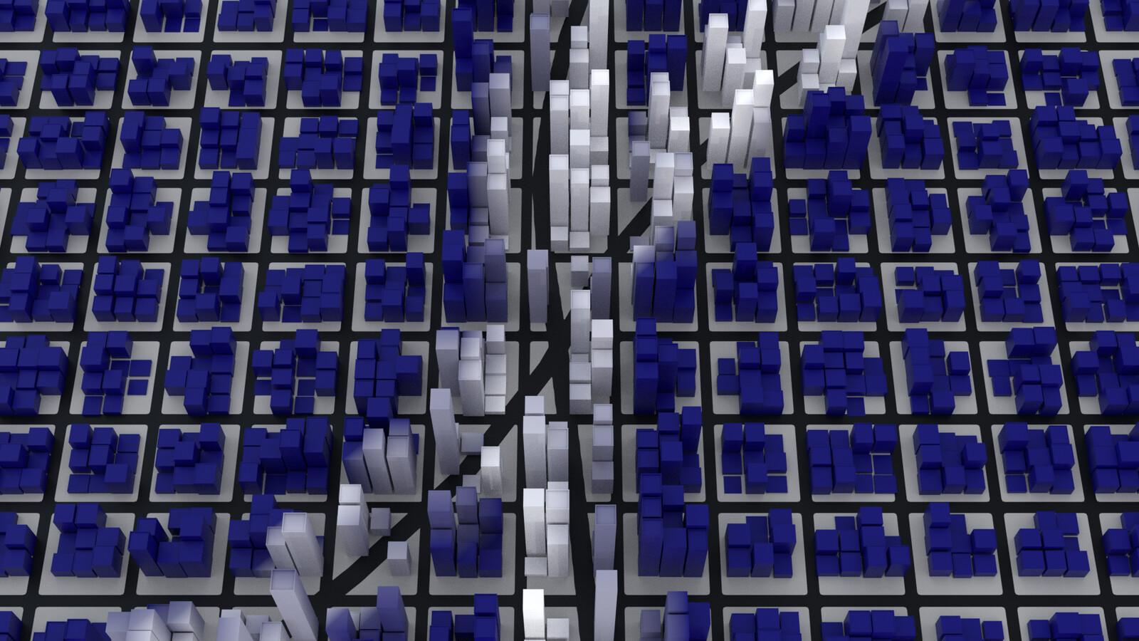 Procedural Modelling: Cityscape In Blender