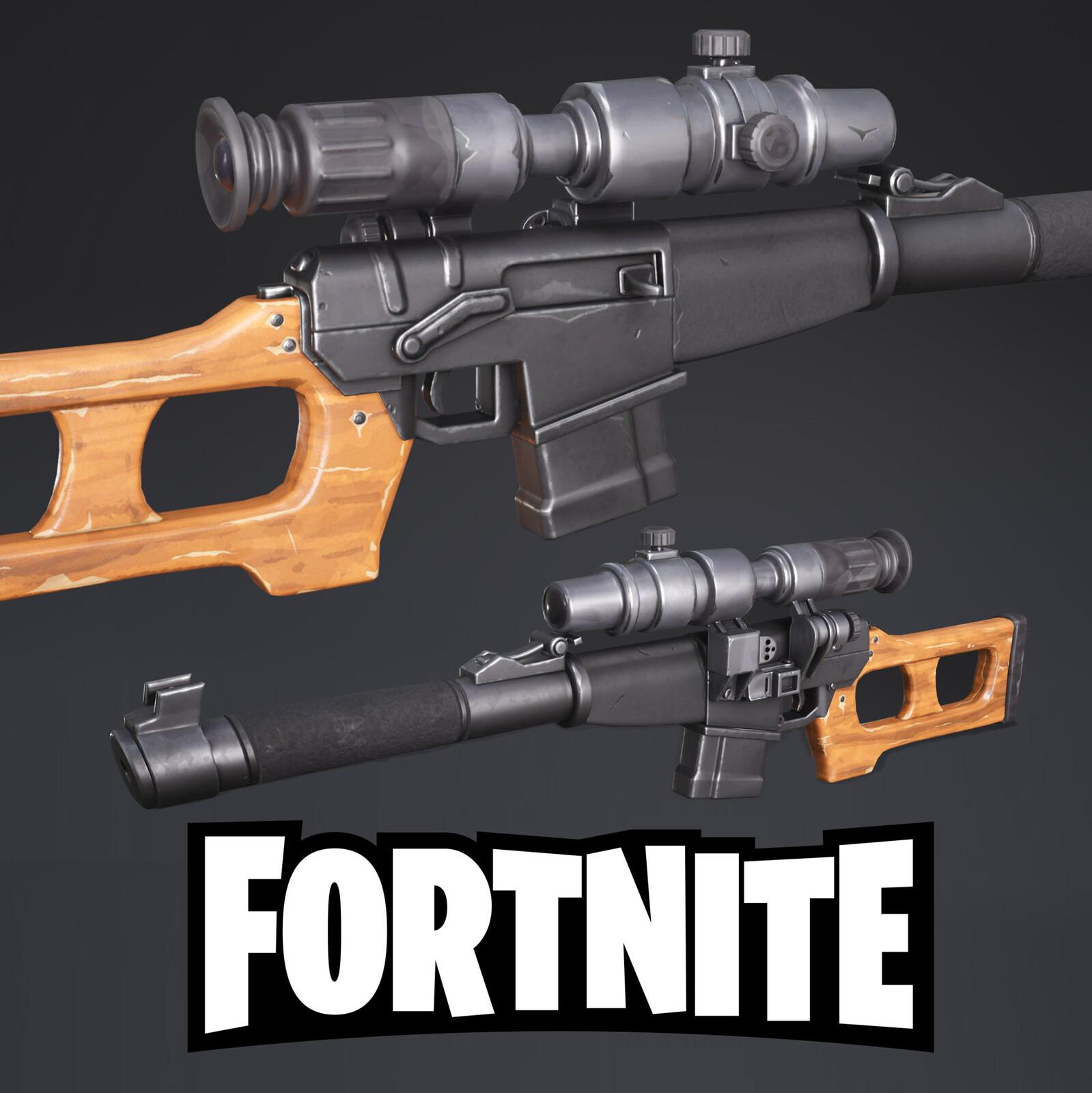 Fortnite - Auto sniper rifle