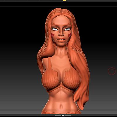 Phong ly phong ly body art 2