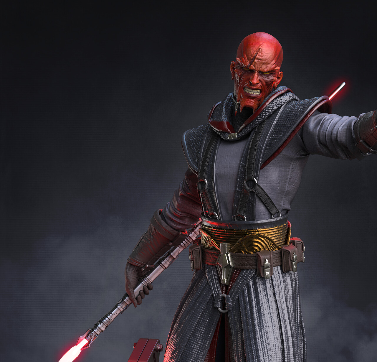 Lord Sith Vindican 1:4 collectible statue