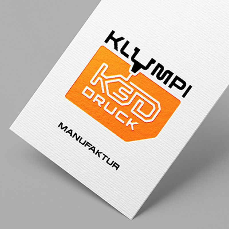 Klumpi 3D Druck - Logo Development