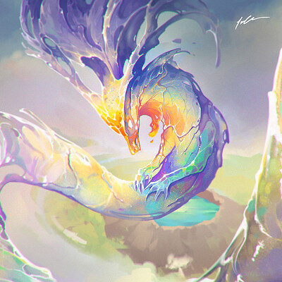 Jenner chen jenner chen rainbow dragon sq center