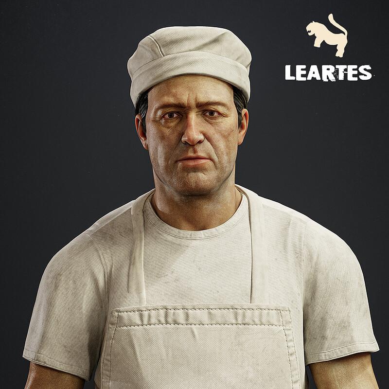 1950's Baker Character