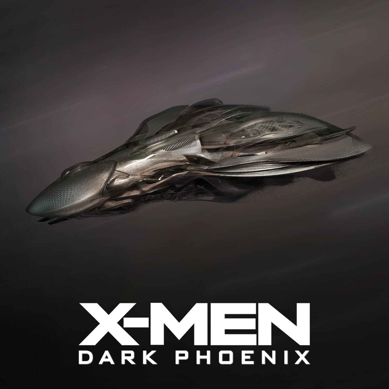 X-Men Dark Phoenix: Alien Fighter Ship