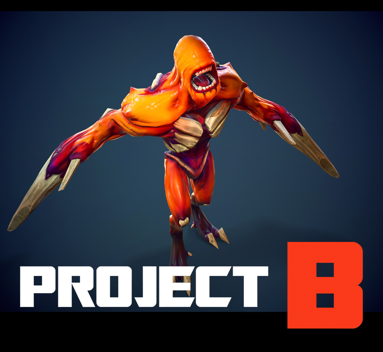 """Game model """"Pug"""" - specially for the game """"Project B"""""""