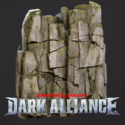 Dungeons & Dragons: Dark Alliance - Cliffs and Rocks