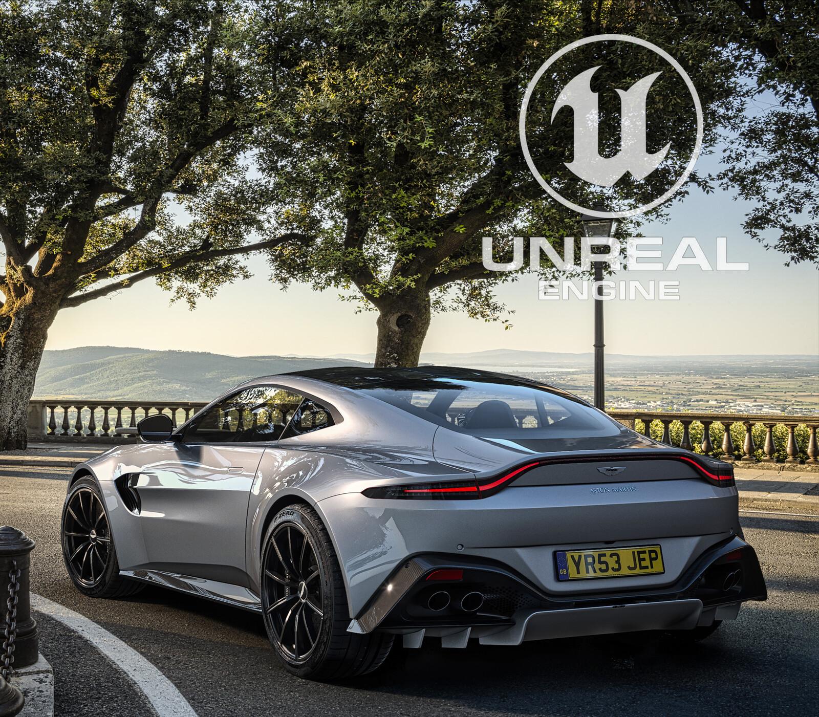 Aston Martin Vantage AMR - Unreal Engine 4