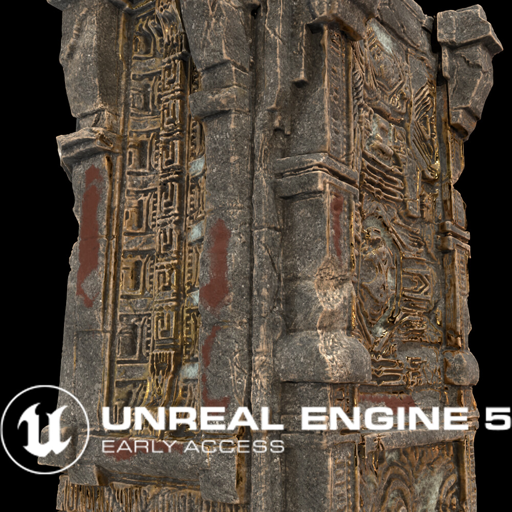 UE5 - Valley of the Ancient-4