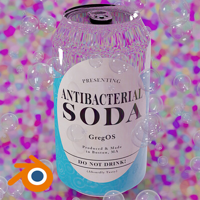 Antibacterial Soda Cover Art
