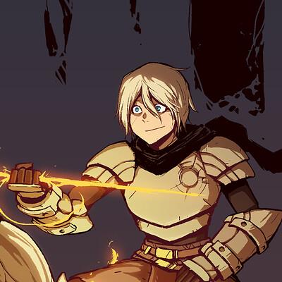 A shipwright a shipwright swordless fire sword comic