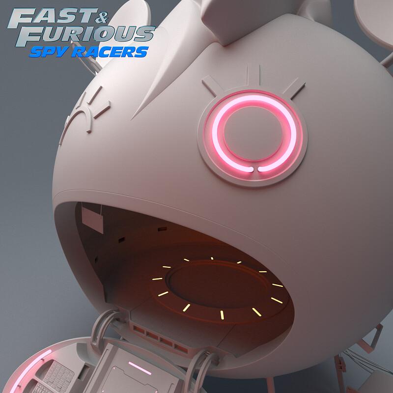 Fast & Furious Spy Racers - Head Yoka