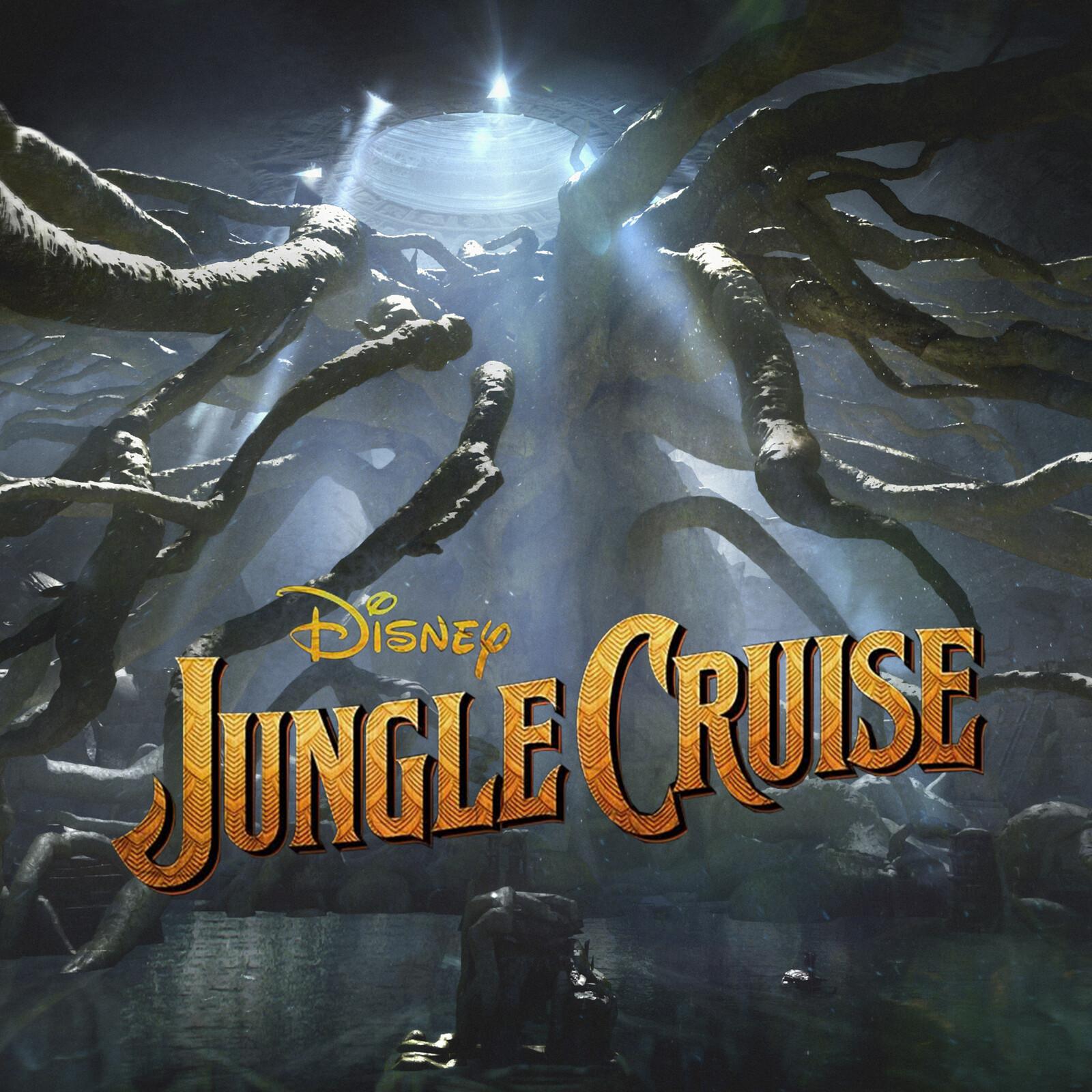 Jungle Cruise Tree Cave Design
