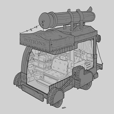 Vehicle Interior Design (Second Year)