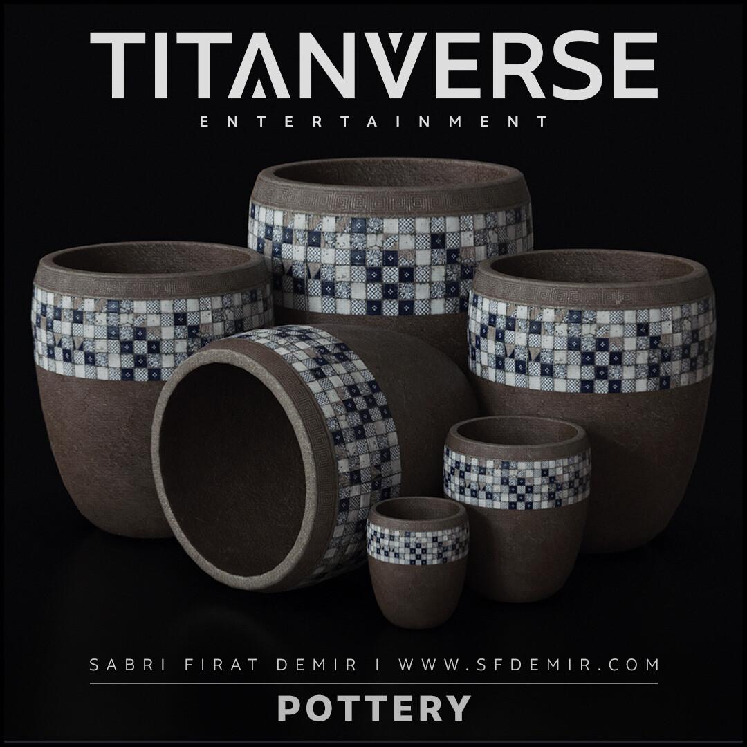 Pottery Trim Sheet