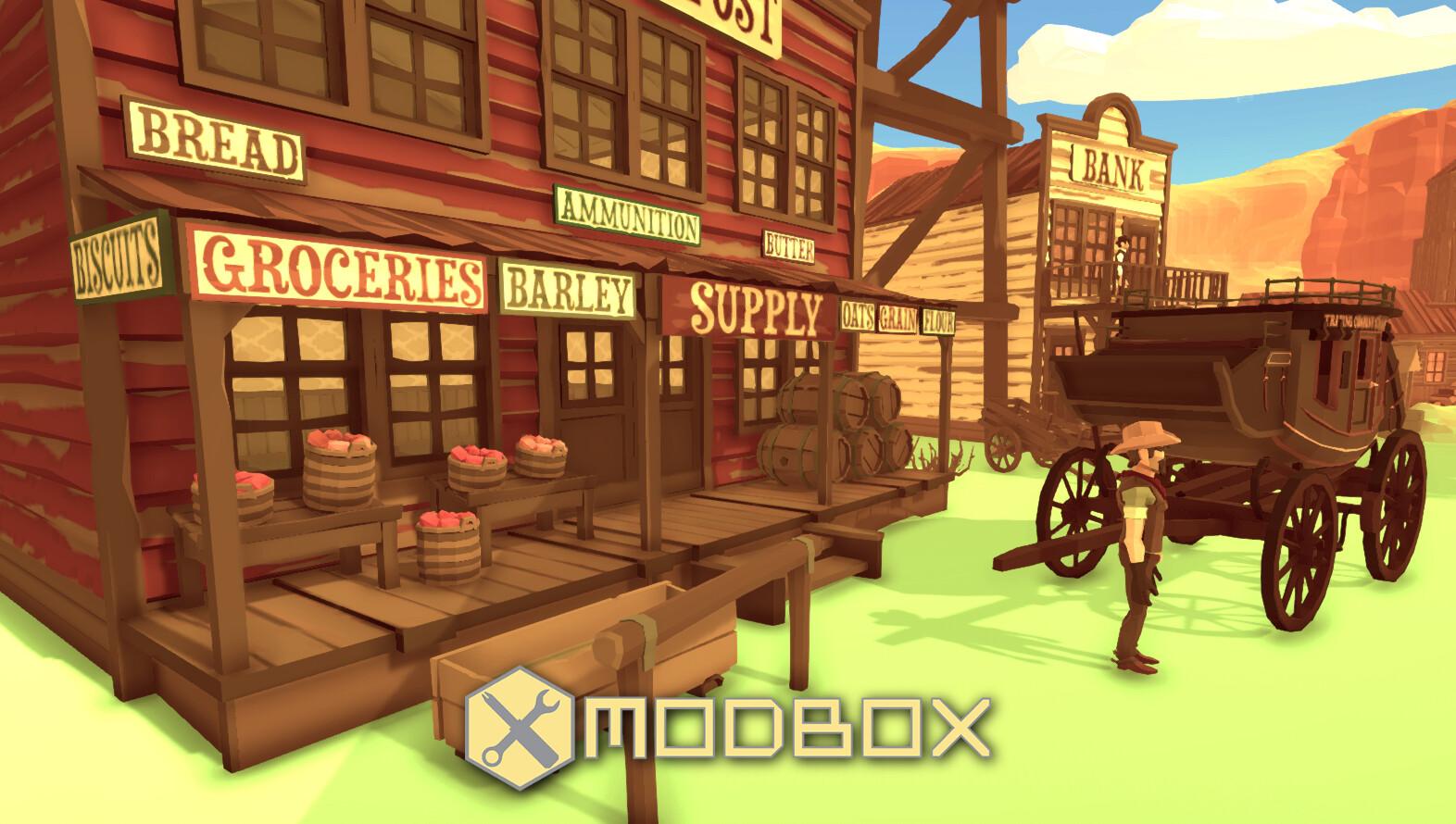 Modbox: Western Canyon